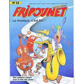 Fripounet 1987, N°24 La musique c'est fou !