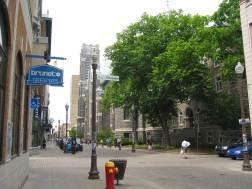 Rue St-Joseph, Quartier St-Roch (Québec). Crédit CEUM