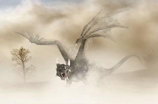 Nos peurs se manifestent souvent comme un dragon effrayant