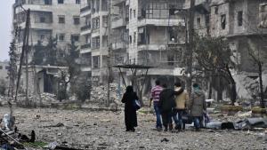 Alep-Est : le sort des civils est toujours incertain