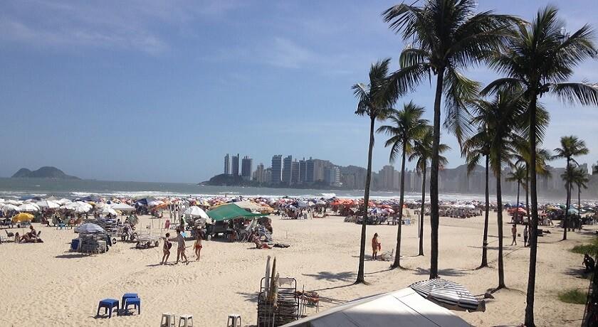 Praia de Pitangueiras Guaruja - Praias do Guarujá