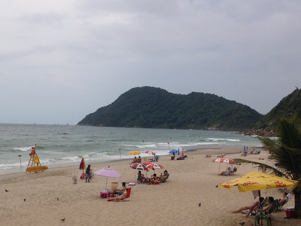 Praia do Tombo- Guarujá