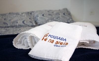 Suite Master Casal Pousada Pe na Areia Guaruja SP