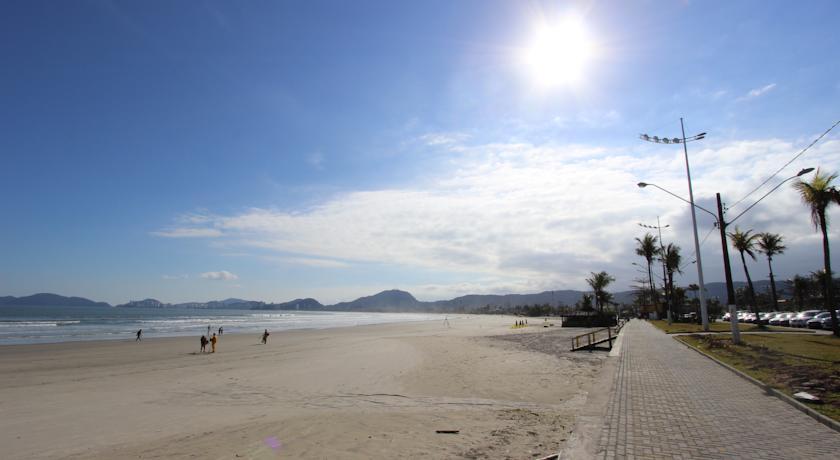 Orla praia da enseada - guaruja sp