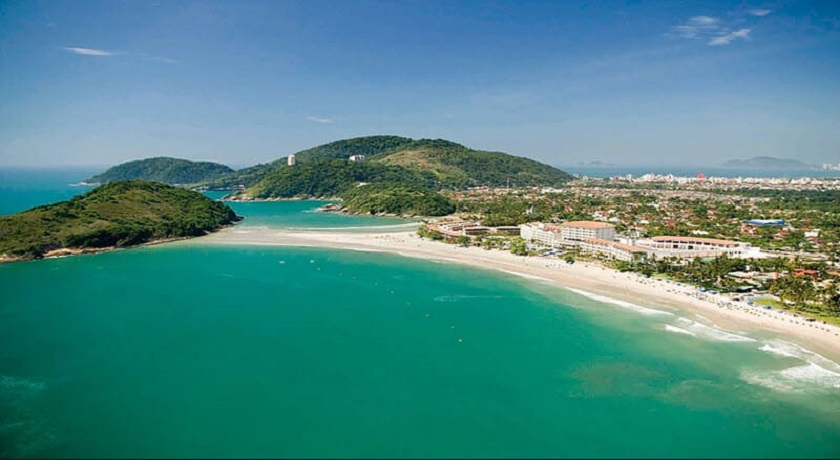 Praia de Pernambuco em Guaruja