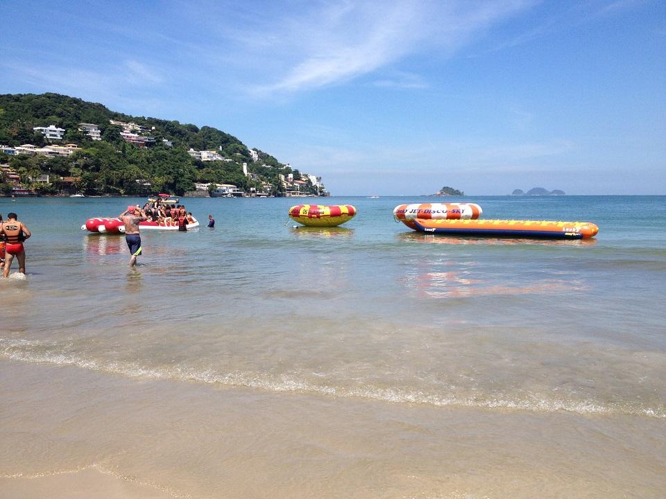 Banana Boat Praia da Enseada Guaruja SP