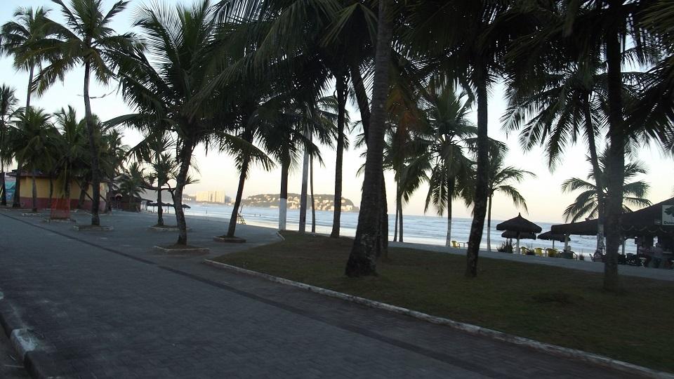 Orla da Praia da Enseada Guaruja SP