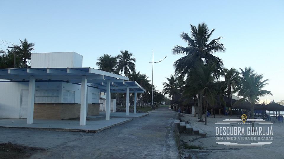 Novos Quiosques na Praia da Enseada Guaruja