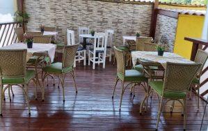 Cafe da Manha na Pousada Sorocotuba Guarujá