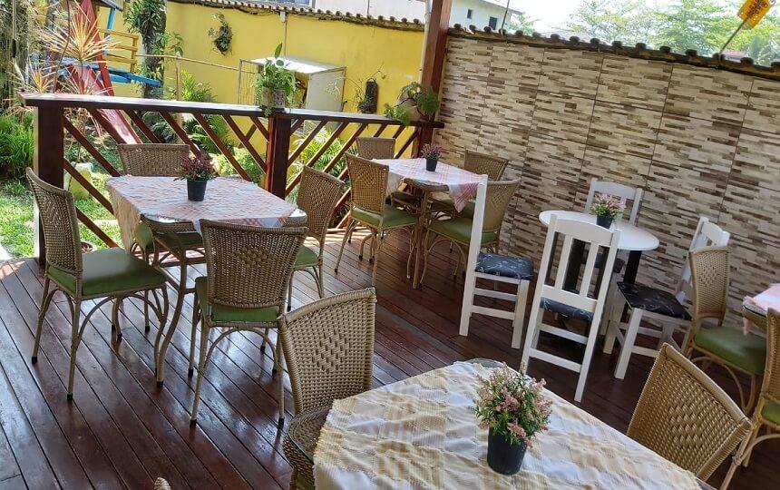 Espaco Cafe Pousada Sorocotuba Guarujá