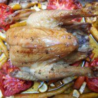 La recette de Carole #2: Poulet fermier et légumes confits