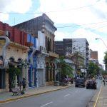 Rue dans le centre d'Asunción