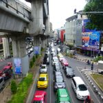 Trafic à Bangkok