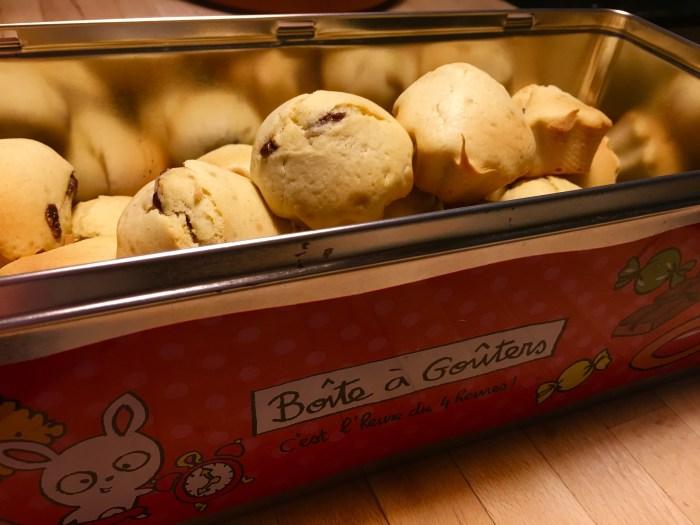 Recette - Muffin fleur d'oranger, cœur chocolat
