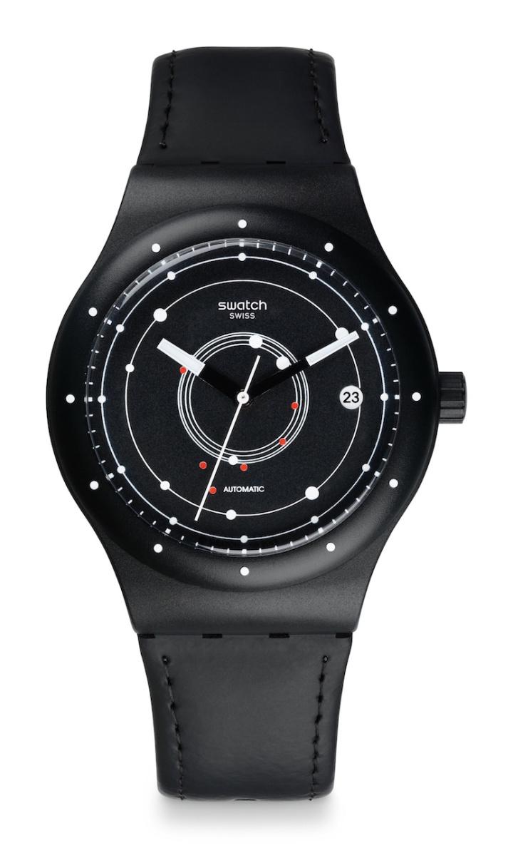 SISTEM51, el primer reloj de Swatch que no requiere baterías