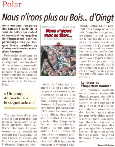 Le Pays roannais - Alain Babanini 151203