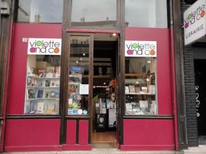 Librairie Violette and Co Paris