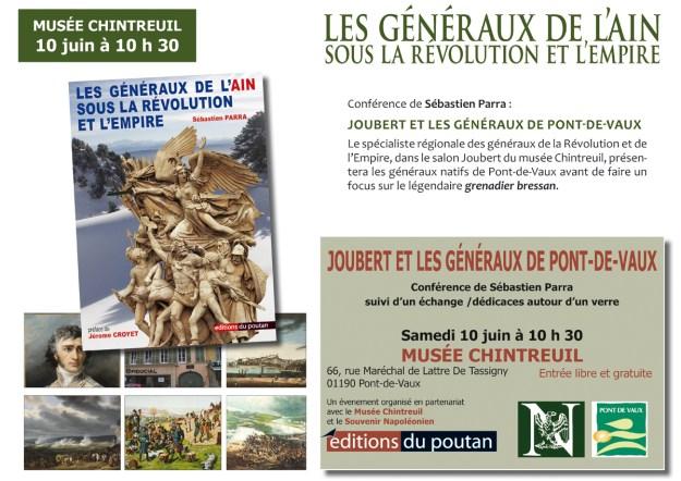 Les Généraux de l'Ain - Musée Chintreuil