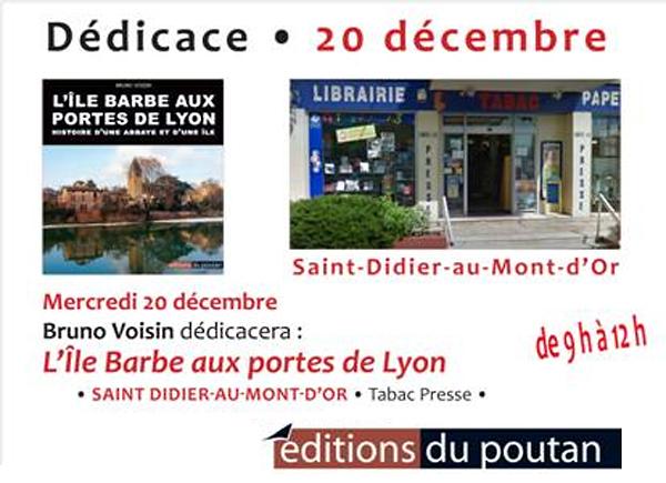 editions du poutan bruno voisin dedicace le 20 decembre 2017