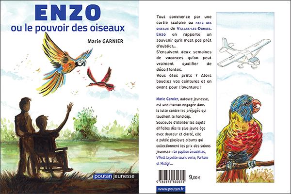 Enzo ou le pouvoir des oiseaux de Marie Garnier