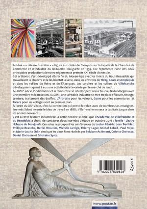Textile - L'autre richesse du Beaujolais - Actes du colloque de Villefranche-sur-Saône des 11 et 12 octobre 2019