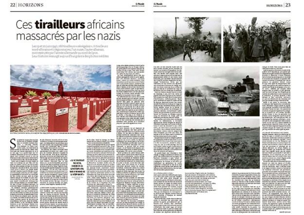 Ces tirailleurs africains massacrés par les nazis - Le Monde - 16/06/20