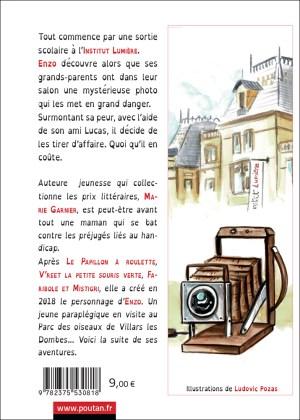 enzo et le mystere lumiere de Marie Garnier - Quatrième