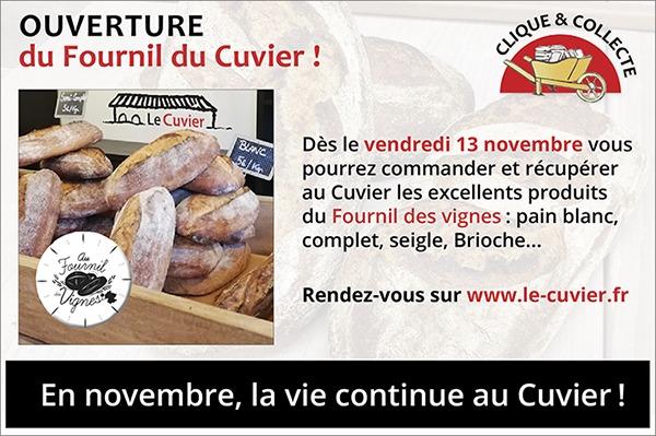 En novembre, ouverture du Fournil du Cuvier à Villefranche
