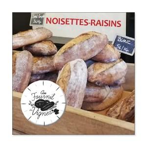 Noisettes - raisins - 1 kg- Au fournil du Cuvier