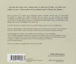 Le Parcours de Camille Roux, de la France à la Belgique, un Territorial Dans la Grande Guerre Quatrième
