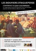 """Conférence """"Les bouviers d'Aigueperse"""" par Jean-Louis Bellaton"""