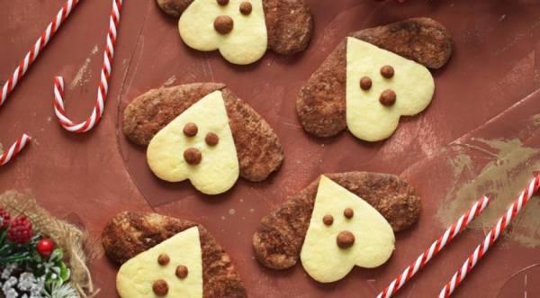 """Печенье """"Собачки"""", пошаговый рецепт с фото"""