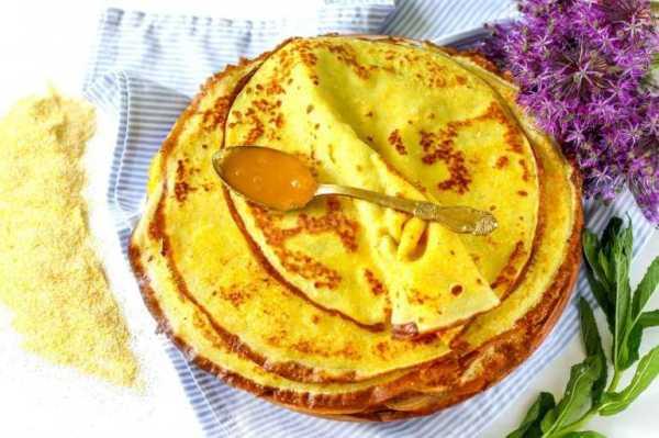 Блины из кукурузной муки: рецепт с фото пошагово
