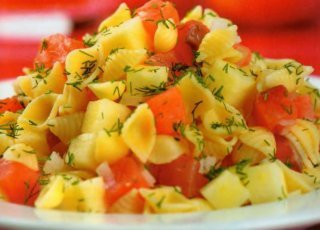 салаты вкусные с ветчиной