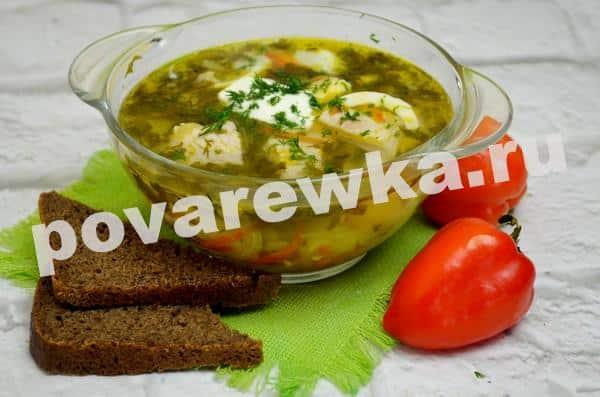 Зелёный борщ с щавелем и яйцом рецепт с фото пошагово