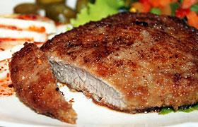 Ромштекс из говядины. Пошаговый рецепт с фото. Жареный ромштекс из говядины: рецепт с фото Как приготовить ромштекс из говядины мираторг