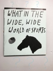 """Polly Schindler, """"What in the Wide, Wide World of Sports"""""""
