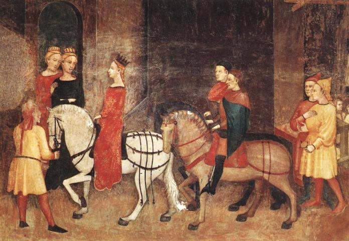 Ambrogio_Lorenzetti_-_Effects_of_Good_Government_on_the_City_Life_(detail)_-_WGA13492