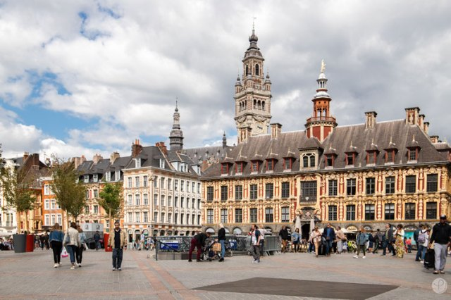 Weekend at Lille Grand'place