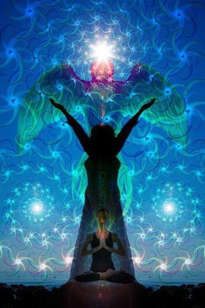 """Укрепление внутреннего стержня"""" - медитация в картинках"""
