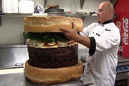 Biggest Burger Delicious