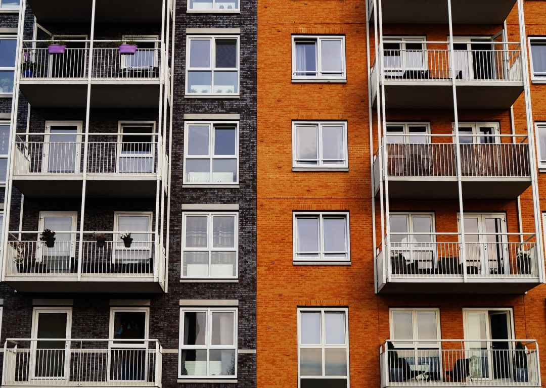 apartment architecture balcony building