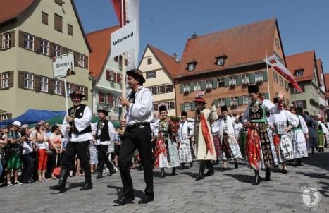 Parada portului săsesc, Întâlnirea de la Dinkelsbuehl, ediția 2014