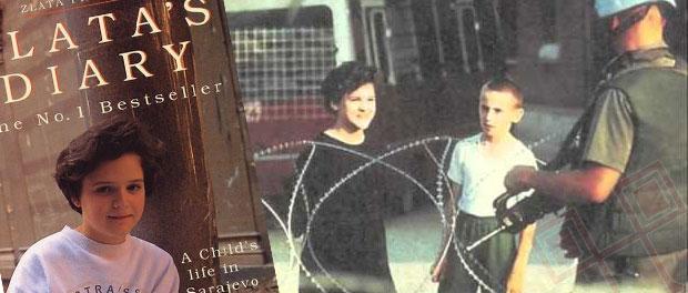 Tijekom bosanskog rata djevojčica Zlata Filipović je vodila dnevnik o stradanjima stanovnika Sarajeva