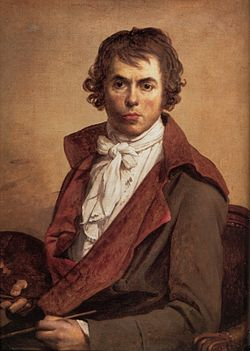 Jacques Louis David (1748.- 1825.), autoportret