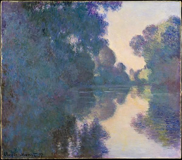 Claude Monet: Jutro na rijeci Seine, blizu Givernyja