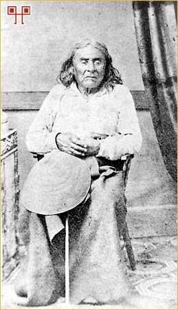 Poglavica Seattle fotografiran 1864. godine