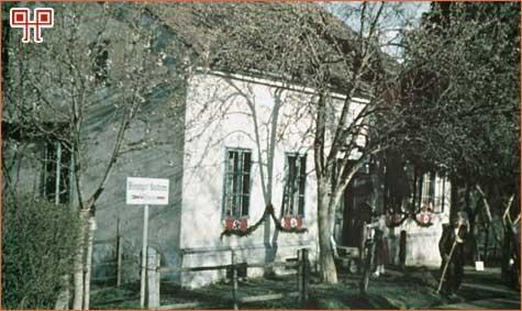 Kuća obitelji Hitler snimljena 1938. godine