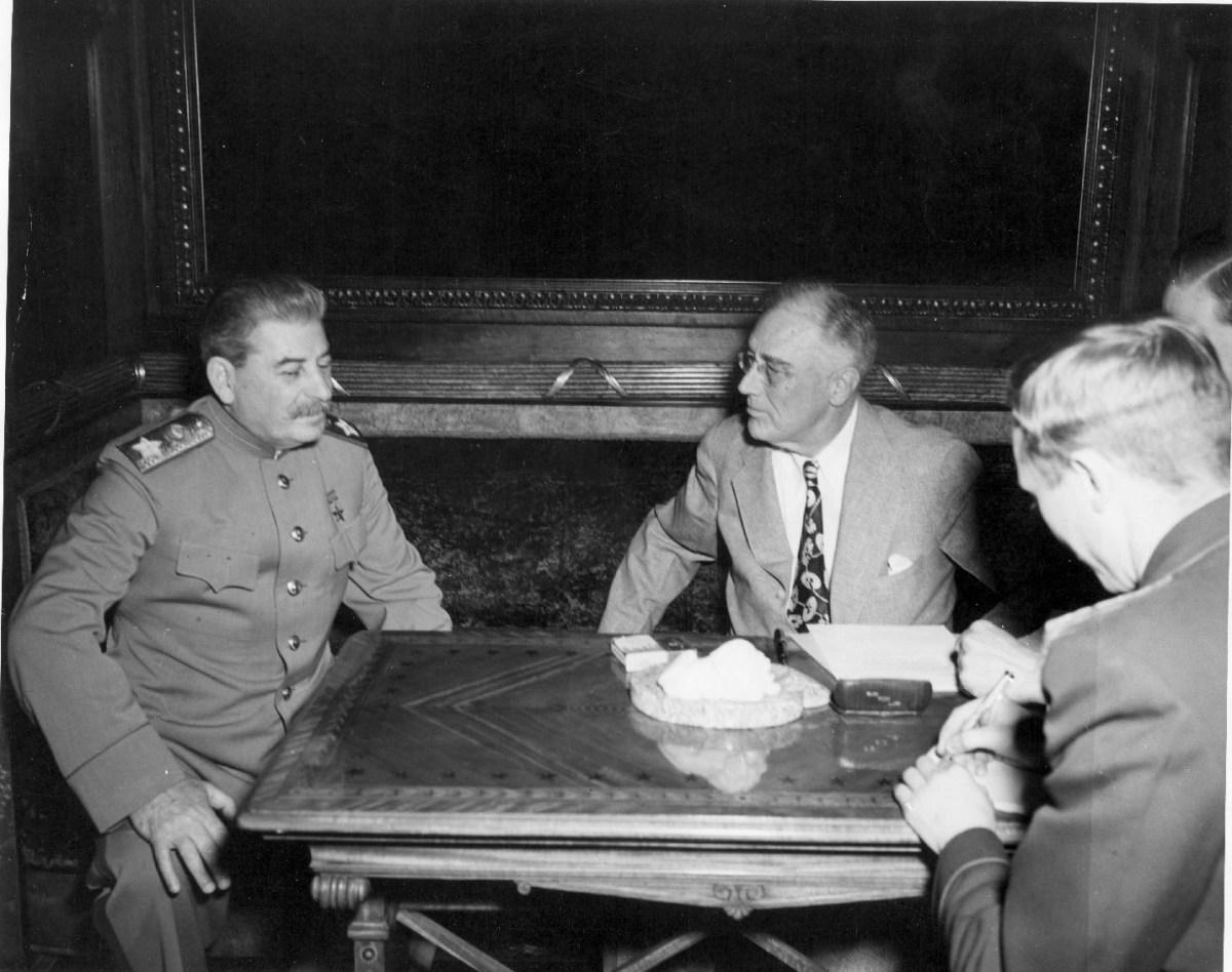 Staljin i FDR u Jalti