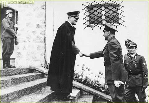 Pavelić kod Hitlera 1941. godine
